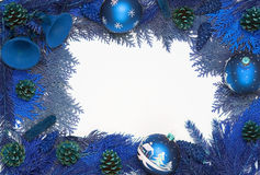 Xmas frame Royalty Free Stock Images