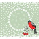 Xmas frame in vector Royalty Free Stock Photos