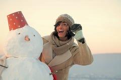 xmas-fritid och vinteraktivitet arkivbild