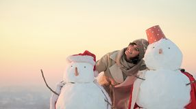 xmas-fritid och vinteraktivitet arkivfoto