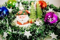Xmas-garnering för jul Arkivfoton