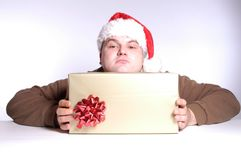 Xmas gift Royalty Free Stock Photography