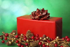Xmas gift Royalty Free Stock Photos