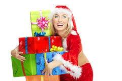 Xmas gifts Royalty Free Stock Images