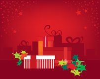 Xmas gifts Stock Photography