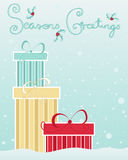Xmas gifts Royalty Free Stock Photography