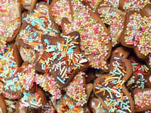 Xmas gingerbread cakes Stock Photo