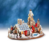 Xmas gingerbread house Royalty Free Stock Photo