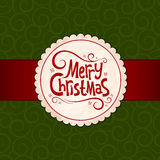 Xmas green background Stock Photo