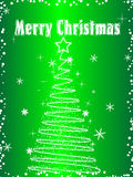 Xmas greeting card  Royalty Free Stock Photography