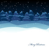 Xmas greeting card Royalty Free Stock Images