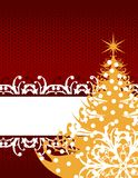Xmas greeting card Royalty Free Stock Photography