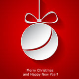 Xmas greeting card Stock Images