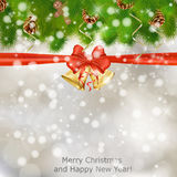 Xmas greeting card Stock Photo