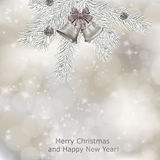 Xmas greeting card Stock Image