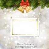Xmas greeting card Stock Photos