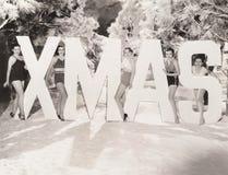 Xmas greetings Royalty Free Stock Photo