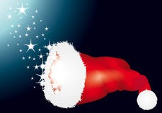 Xmas hat Royalty Free Stock Images