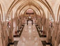Xmas-heder Hall Royaltyfria Foton