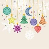 Xmas holiday decoration Stock Images