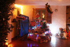 Xmas home Royalty Free Stock Images