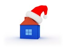 Xmas house Royalty Free Stock Images