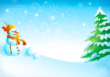 Xmas illustration 36 Royalty Free Stock Photography