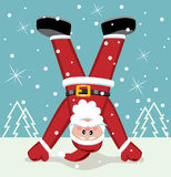 Xmas illustration of santa claus Stock Photo