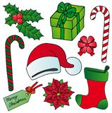 Xmas images collection Stock Photography