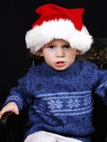 Xmas Kid Royalty Free Stock Photography