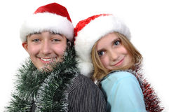 Xmas kids Stock Photo