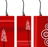 Xmas label set. Collection of easy xmas labels Royalty Free Stock Images