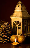 Xmas lantern Royalty Free Stock Photo