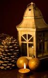 Xmas lantern Royalty Free Stock Photo