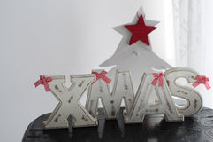 XMAS Lettering Royalty Free Stock Photos