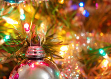 Xmas lights Stock Images