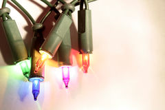 Xmas lights Royalty Free Stock Photography