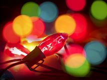 Xmas lights Royalty Free Stock Images