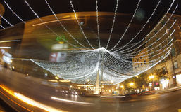 Xmas lights Royalty Free Stock Photography
