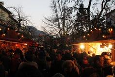 Xmas market bolzano Royalty Free Stock Photo