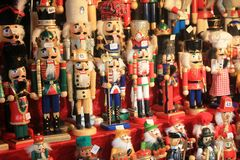 Xmas market in Luxembourg Stock Photography