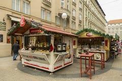Xmas market in Zagreb, Croatia. Xmas market in downtown Zagreb, Croatian capital royalty free stock photos