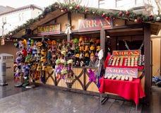 Xmas markets southport Royalty Free Stock Photos