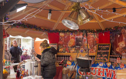 Xmas markets southport Royalty Free Stock Images