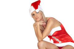 Xmas model Royalty Free Stock Photos