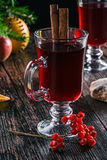 Xmas mulled wine Stock Photos