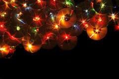 Xmas music background Royalty Free Stock Photography
