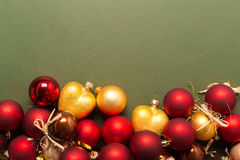 Xmas or new year composition Stock Photography