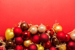 Xmas or new year composition Royalty Free Stock Photo