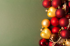 Xmas or new year composition Royalty Free Stock Photos